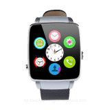 Telefone desenvolvido novo do relógio de 2016 Bluetooth com tela curvada (X6)