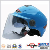 オートバイまたはスクーター(HF314)のための新しい到着の倍のバイザーのヘルメット