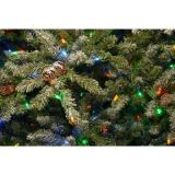 O Glitter derruba a árvore de Natal do Teardrop com a cerda Glittery de 50 luzes (MY100.098.00)