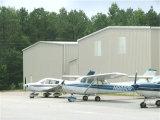 Hangar léger préfabriqué d'aéroport de structure métallique de coût bas (KXD-SSW47)