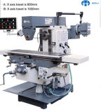 X6032/6036 всеобщий Колен-Тип филировальная машина