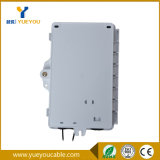FTTH ABS Material Fiber Optic Distribution Box met 1*2 PLC Splitter