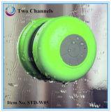 2016 seis colores calientes impermeabilizan el altavoz de la ducha de Bluetooth con la función libre de las manos para el baño (STD-W05)