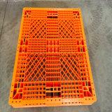 Double palette en plastique renforcée de HDPE de /Durable de face par acier