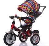 4 in 1 Baby-Dreirad, Baby-Spaziergänger, scherzt Dreirad