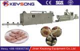 Petisco Vegetarian do alimento das salsichas da aplicação do grão de soja que faz a máquina