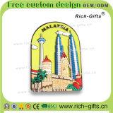 Regali promozionali dei prodotti del ricordo dei turisti per i magneti del frigorifero del PVC della Malesia (RC-MA)