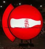 Vacío ahorro de energía que hace publicidad del panel del LED