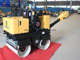 Neue Bedingung-Doppelt-Trommel-hydraulische kleine Straßen-Rolle (FYL-800C)
