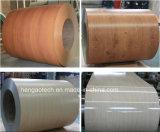 Bobine di legno d'imitazione della lamiera di acciaio del grano del rifornimento della fabbrica PPGI