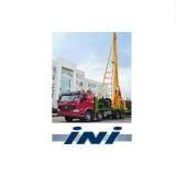 Programa piloto de pila automático montado carro de Ini con el martillo pesado de la caída libre