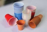 Prensa de batir del borde plástico automático de la taza de Donghang