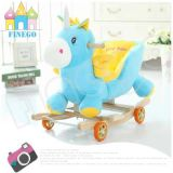 Musical Happy Stuffed Rocking Unicorn Animales silla para Kids'gift