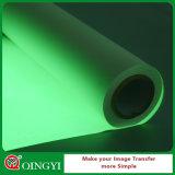 Зарево хорошего качества Qingyi в темном виниле передачи тепла для тенниски