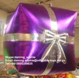 De opblaasbare Hangende Doos van de Gift voor de Decoratie van Kerstmis
