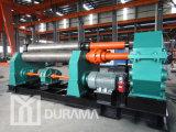 Dobladora de la placa/rodillo de la prensa de batir/del metal/máquina de la laminación/prensa de batir mecánica/doblador simétrico Drr-30X2500 de la placa