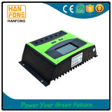 30A 12V/24V PWMの太陽電池パネルのコントローラ電池の料金の調整装置LCD