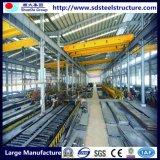 Construção de aço Prefab da alta qualidade do baixo custo para o armazém