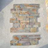 Декоративное плакирование стены, камень естественного шифера культурный