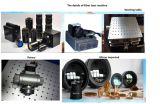 Marcação de alta velocidade do laser da fibra da máquina da marcação do metal