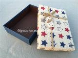 Подгонянная коробка праздника настоящего момента печатание