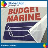 Bandeira da tela de pano da bandeira do poliéster de 110 G/M