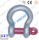 Drop Forged Anchor Shackle Chain Shackle com qualidade Hight