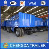 China 3 Flatbed Beste Volledige Aanhangwagen van Assen met Assen BPW