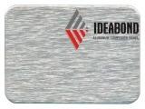 Comitati di parete decorativi di alluminio della spazzola d'argento (IDEABOND)