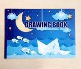 Книга расцветки детей тетради чертежа студента белой бумаги размера A4 для подарка детей