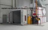 A linha de revestimento equipamento, cabine da pintura de pulverizador, Ce Certificated.