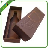 Vino Spirits Paper Gift Packaging Boxes per Glass Liquor Bottle Packing