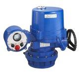 Válvula de esfera elétrica do PVC com atuadores giratórios