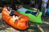 膨脹可能な空気Lounger OEMのロゴの不精なベッド