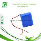 Высокое качество перезаряжаемые Lipo 7.4V или блок батарей 7.2V 1300mAh для мобильного телефона