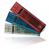 플라스틱 시동 가능한 USB 펜은 수용량을 몬다 2GB