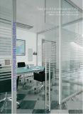 Tipo maneta de Dimon H de puerta de cristal del acero inoxidable con el bloqueo Dm-DHL 036