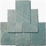 Камня шифера вымощая камня шифер камня качества зеленого самый лучший