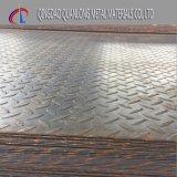 Q235 Ss400 A36 S235jr 탄소 Checkered 지면 강철 플레이트