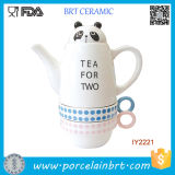 Funny fantastico Zoo Ceramic Cup e Teapot Tea Set