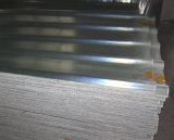 충격 방지 반투명 다채로운 FRP 장 섬유 유리 물결 모양 햇빛 루핑 장