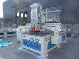 Preço automático de cinzeladura de madeira da máquina da tabela do vácuo do eixo refrigerar de ar