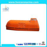 Solas-anerkannter total beiliegender Typ Fiberglas-Rettungsboot für Verkauf