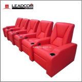 Rechegador elétrico de cinema doméstico em couro de luxo Leadcom (LS-805)