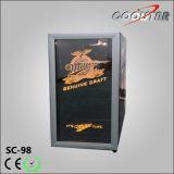 Réfrigérateur intrinsèque de porte française de mini barre (SC98)