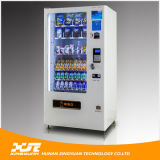Snacks&Drinks Combo Vending Machine con Refrigeration System