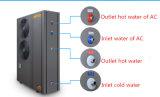 ヒートポンプ18kwの床Heating+Coolin+Hot水に水をまくEviの空気