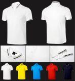 빨리 남자의 의복 고품질 짧은 소매 건조한 Breathable 폴로 골프 t-셔츠