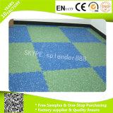 Azulejos de suelo de goma del centro de aptitud de la gimnasia de la estera del patio