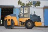 道ローラーの工場6トンの鋼鉄車輪の単一のドラム振動ローラー(YZ6C)